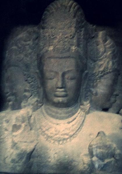 shiva thrimurthi elephanta cave