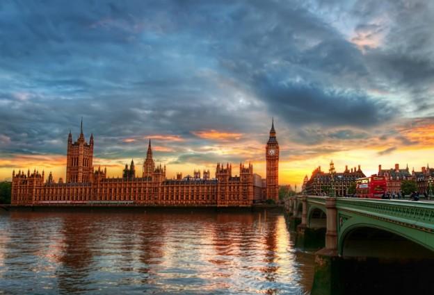 london city clock-tower