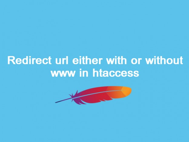 redirect url with or without www in htaccess